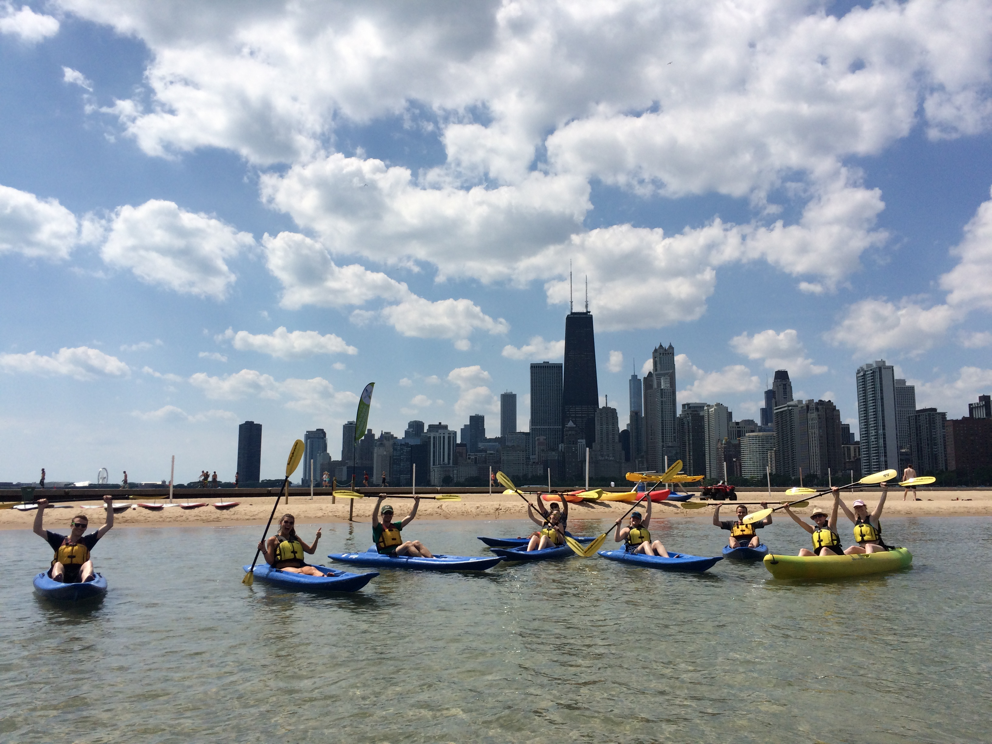kayaking tours chicago river