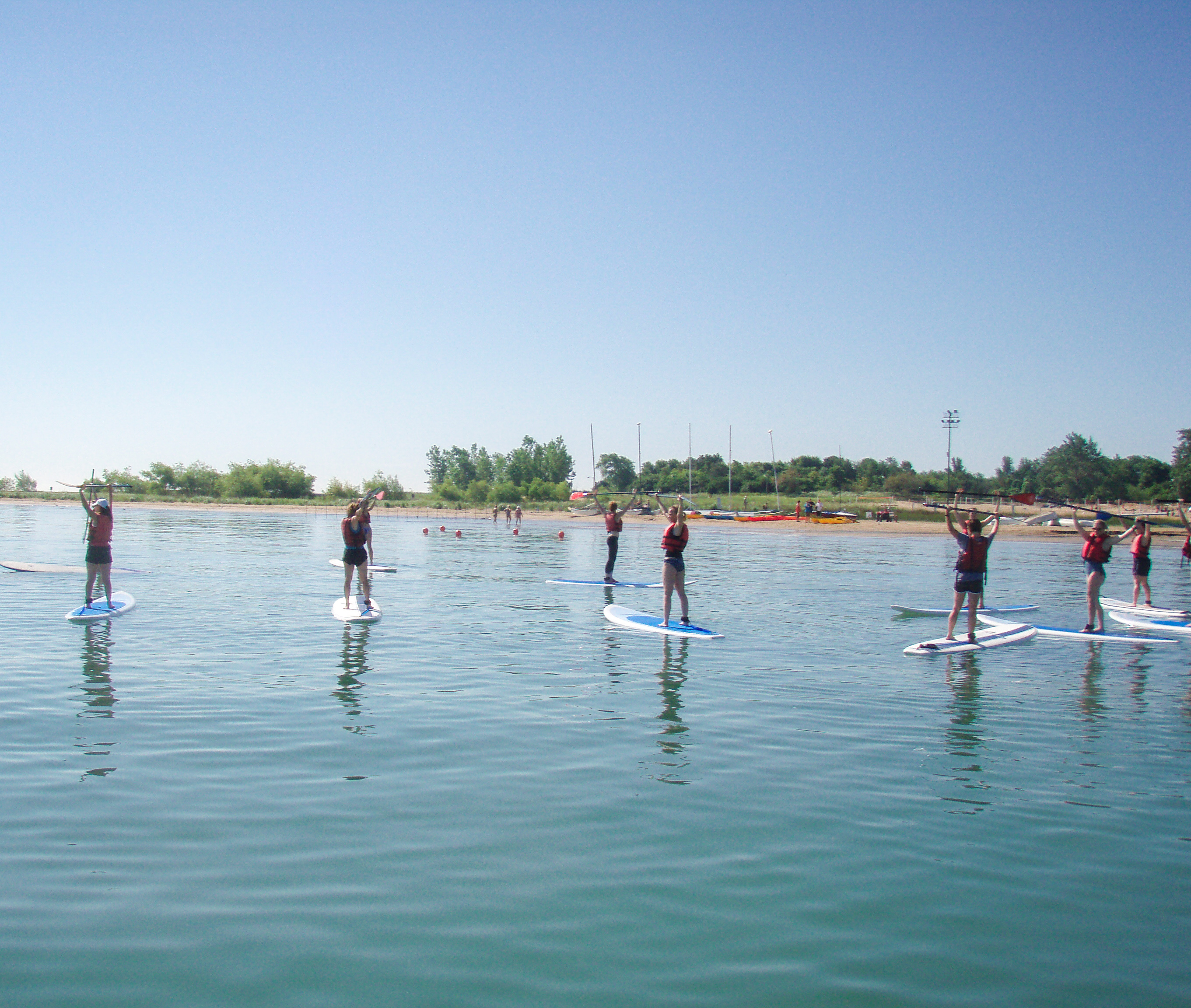 chicago paddleboard classes