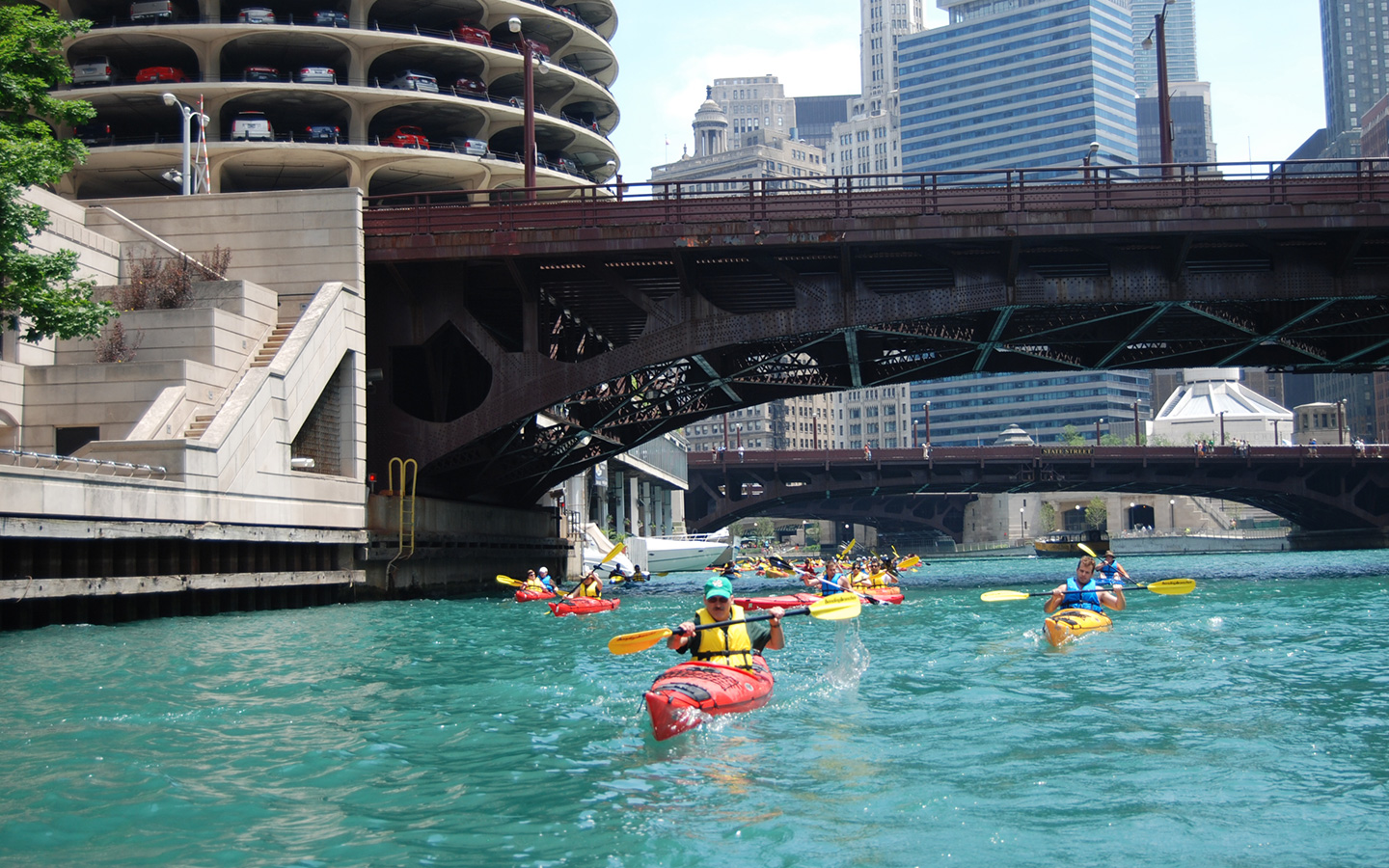 kayak rental chicago river